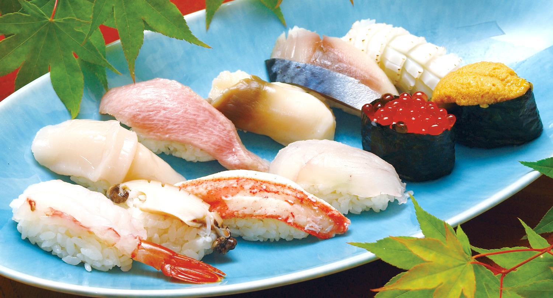 あおもりご当地食めぐり はちのへ食のエリア はちのへ鮨