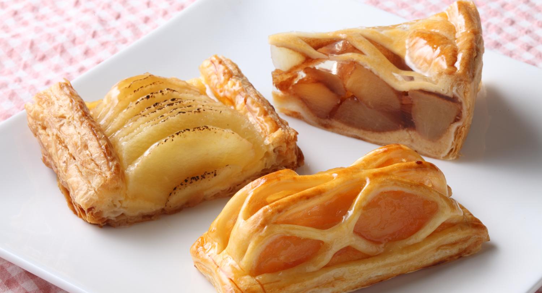 あおもりご当地食めぐり 岩木山食のエリア りんごの街のアップルパイ