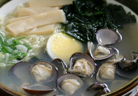2009年5月旬の食材 十三湖のシジミ