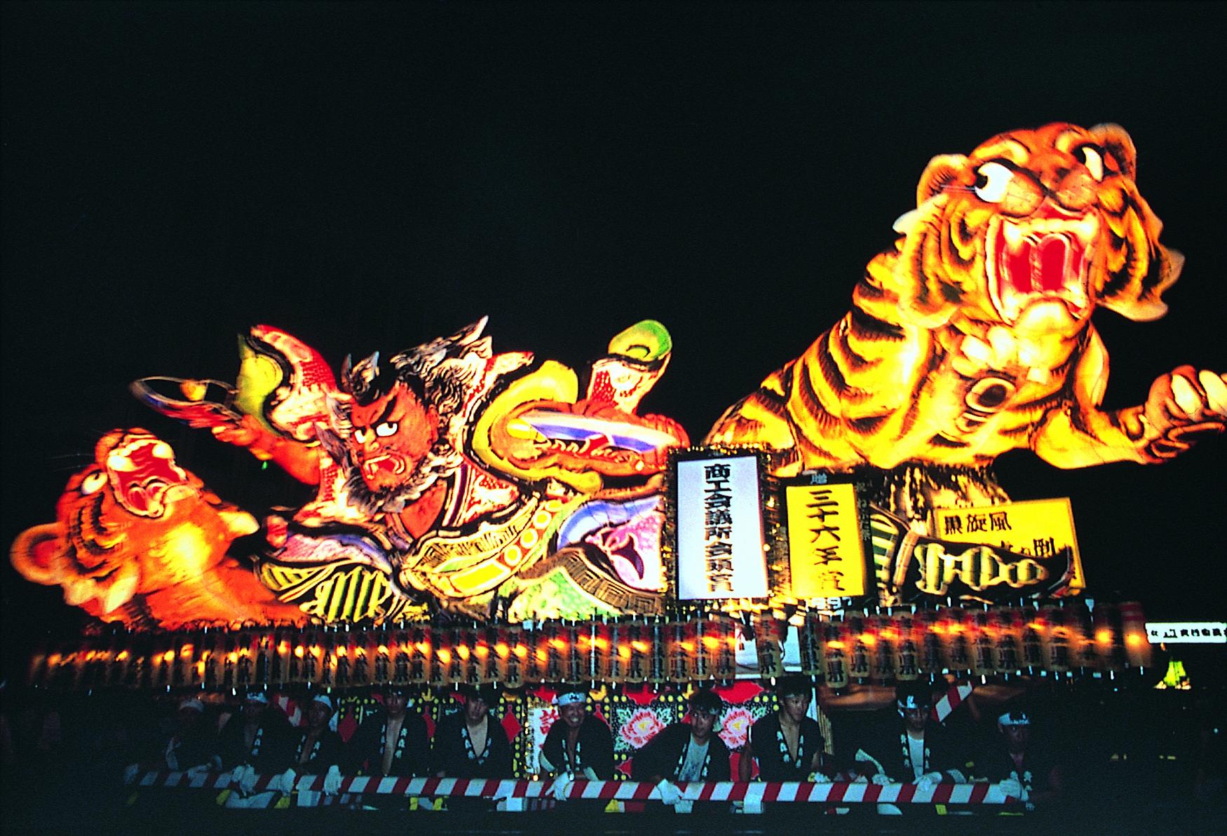 青森県内の夏祭り