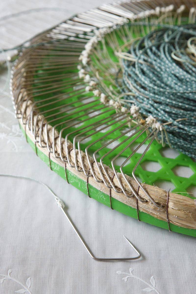 鮟鱇漁用延縄と針