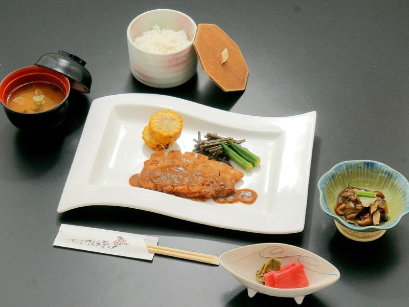 ひろさき豚辛焼き定食