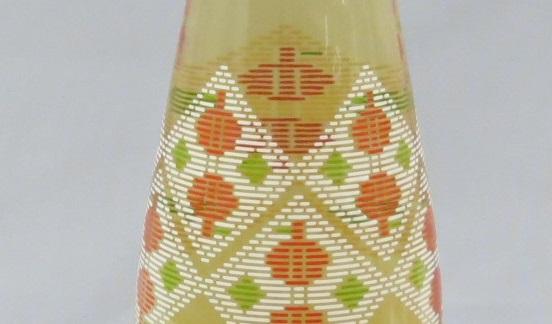 津軽地方の伝統工芸「こぎん刺し」のモチーフをデザイン