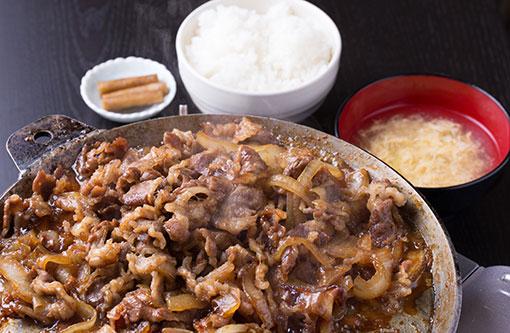 あおもりご当地食めぐり 十和田・三沢食のエリア 十和田バラ焼き