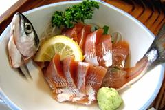 あおもりご当地食めぐり 十和田・三沢食のエリア 十和田湖ひめます料理 ひめます刺身