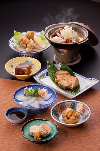 あおもりご当地食めぐり 本州最北端食のエリア 風間浦鮟鱇料理