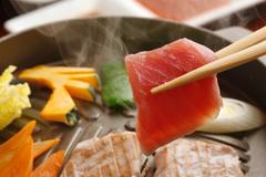 あおもりご当地食めぐり 奥津軽食のエリア 深浦マグロステーキ丼 焼きマグロ