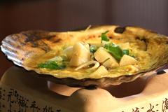 あおもりご当地食めぐり 本州最北端食のエリア  下北みそ貝焼き(みそかやき)