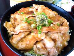 あおもりご当地食めぐり 岩木山食のエリア ひろさき豚辛焼 弘前 豚辛丼