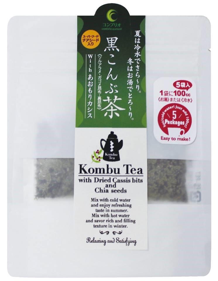 海藻開発コンブリオ(青森市)の「黒こんぶ茶」