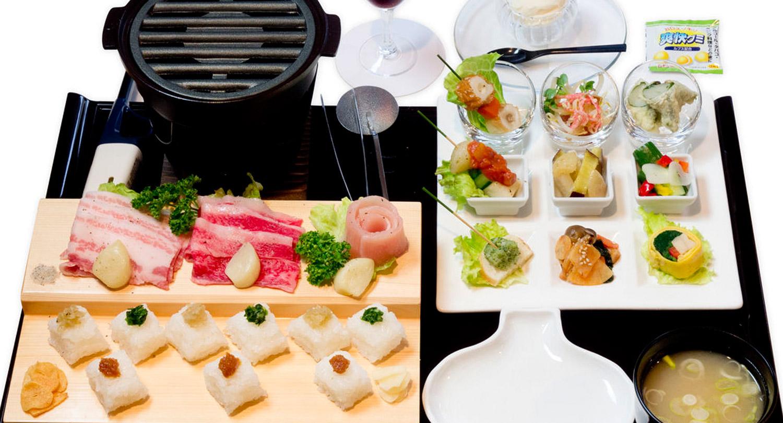 田子ガーリックステーキごはん 旬の食材2016年7月