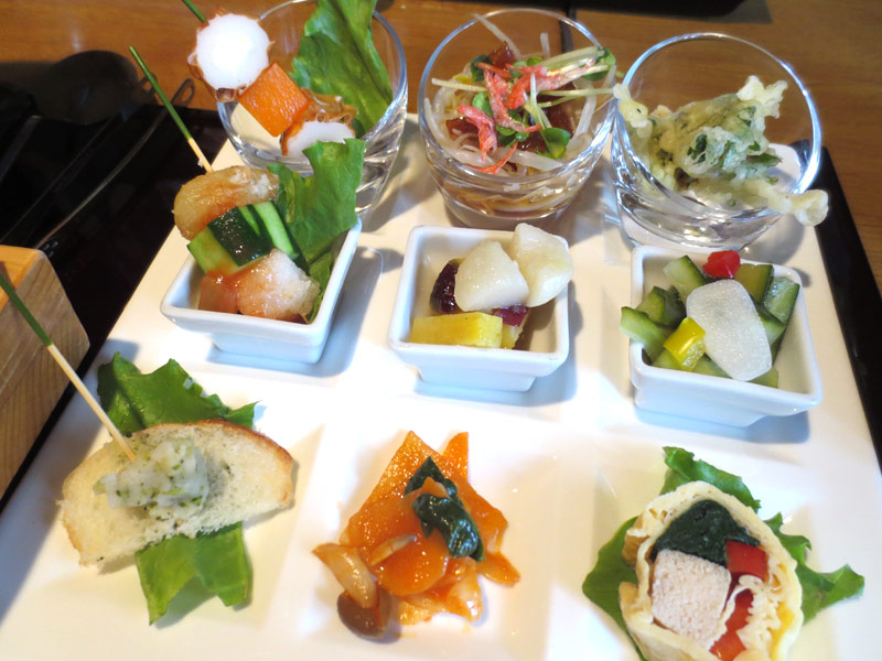 前菜 9種類の創作にんにく料理