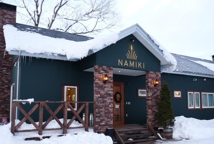 「NAMIKI」外観