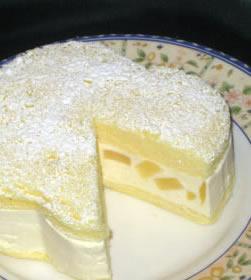 カマンベールチーズケーキアップル ラフォーレ洋菓子店