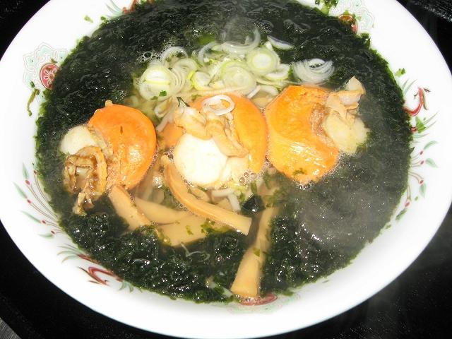 青森が味わえるお店 青森県内 上北地域 レストラン「鮮菜」(道の駅「よこはま」内)ほたて塩ラーメン