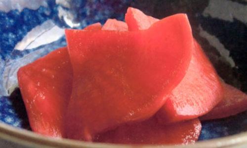 赤カブの漬物 青森県津軽地方の郷土料理