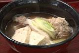 タコの道具汁 青森県沿岸地帯の郷土料理