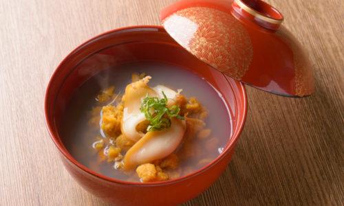 いちご煮 青森県沿岸地帯の郷土料理