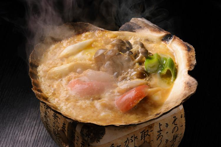 みそ貝焼き(みそかやき)/ホタテ貝焼き味噌 青森県沿岸地帯の郷土料理