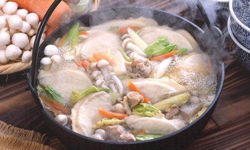 せんべい汁 青森県南部地方の郷土料理