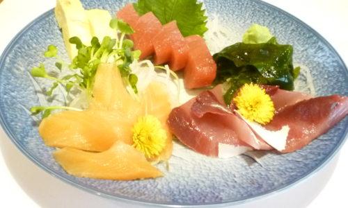 青森が味わえるお店 青森料理割烹 なか村 東京 季節の魚刺身五品盛