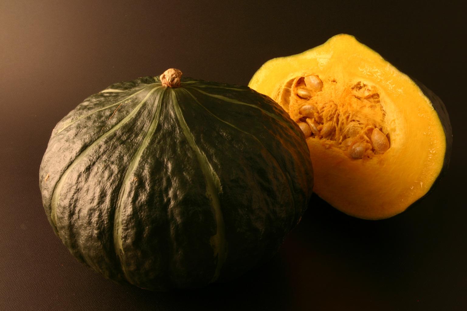 かぼちゃ「ダークホース」