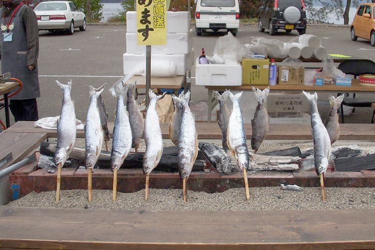十和田湖のひめます 塩焼きの販売