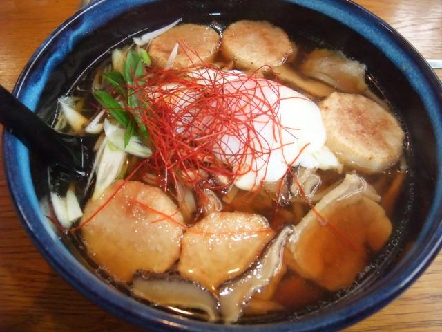 ごぼう入り米粉麺 冬メニュー・温かい麺