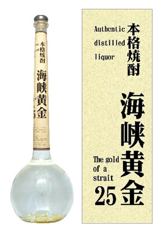 本格米焼酎25度 海峡黄金(ゴールド)