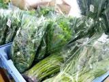 アップルヒル農産物直売所(道の駅「なみおか」)葉菜類