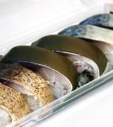 鯖の押し寿し三種