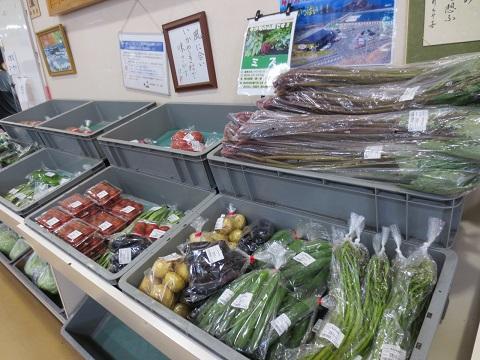 道の駅ふかうら「かそせいか焼き村」旬の野菜や山菜