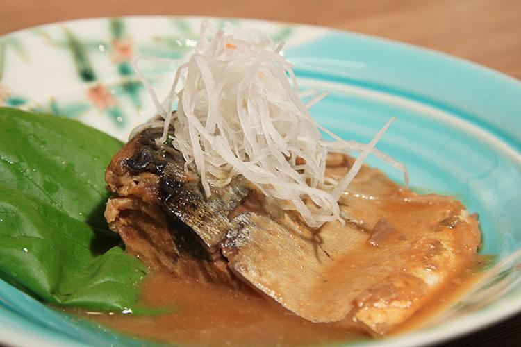 八戸前沖サバ 味噌煮
