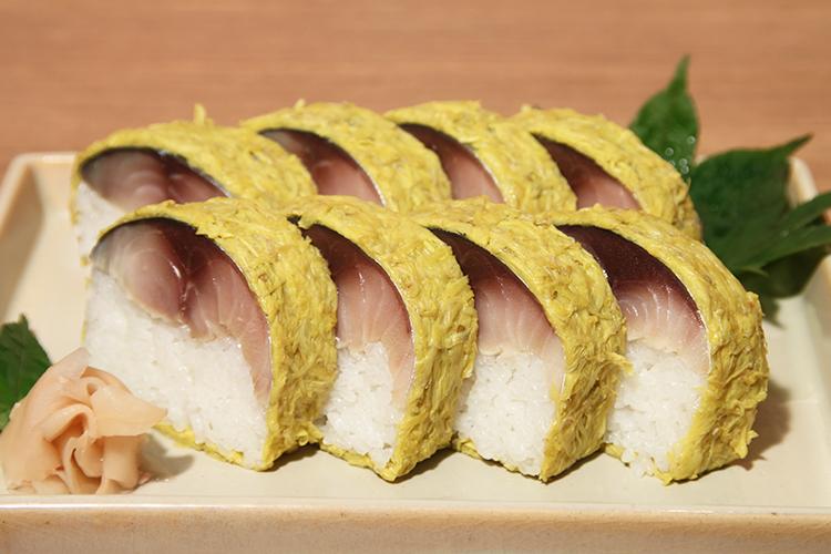 八戸前沖サバ 寿司