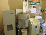 JAつがる弘前農産物直売所 ひろさき新鮮組 当店ではその場で精米し、1kg単位で購入できます。