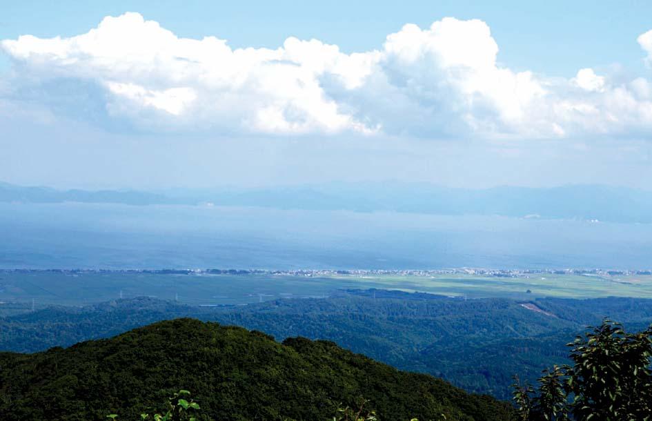 蓬田三山からの眺め