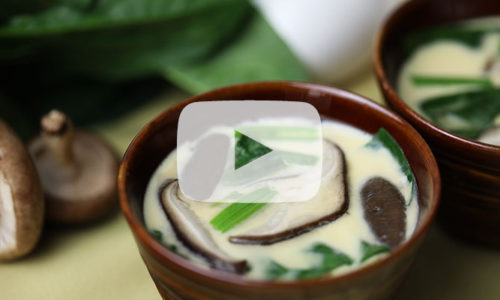 【牛乳・卵】牛乳と卵で作るかんたん「茶碗蒸し」