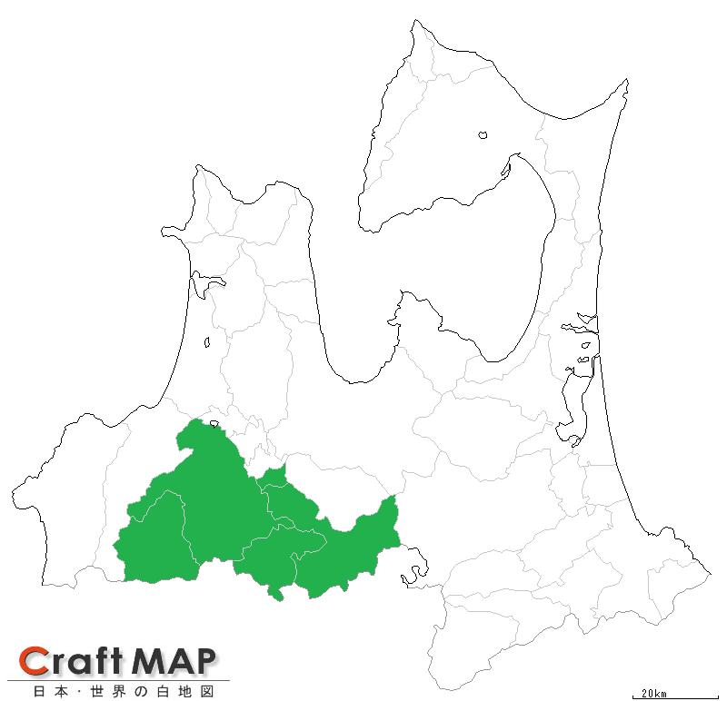 清水森ナンバ®生産エリア 地図