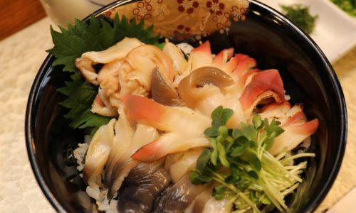 今食べてほしい!『三沢ほっき丼』・『鰺ヶ沢ヒラメのヅケ丼』・『鰺ヶ沢イトウ料理』