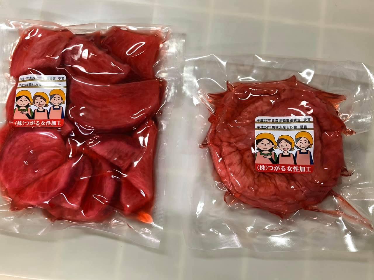 赤かぶの酢漬
