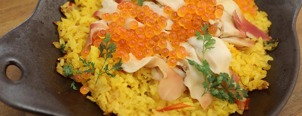 あおもりご当地食めぐり 十和田・三沢食のエリア 三沢ほっき丼