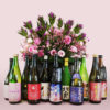 県内酒造会社による酒米「吟烏帽子」の清酒
