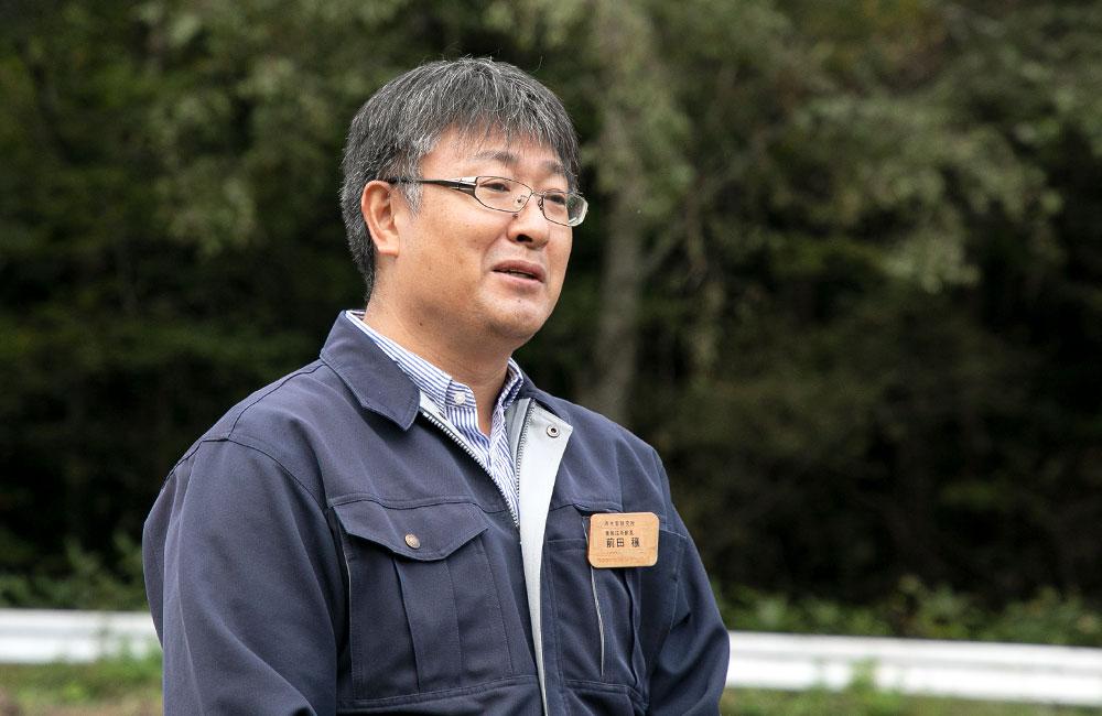 内水面研究所 前田穣養殖技術部長