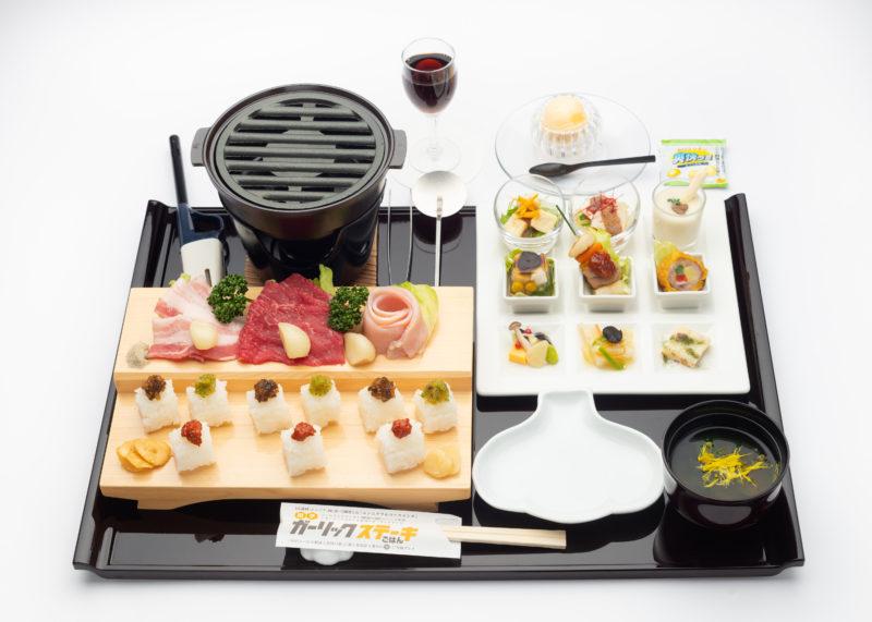 あおもりご当地食めぐり はちのへ食のエリア 田子ガーリックステーキごはん