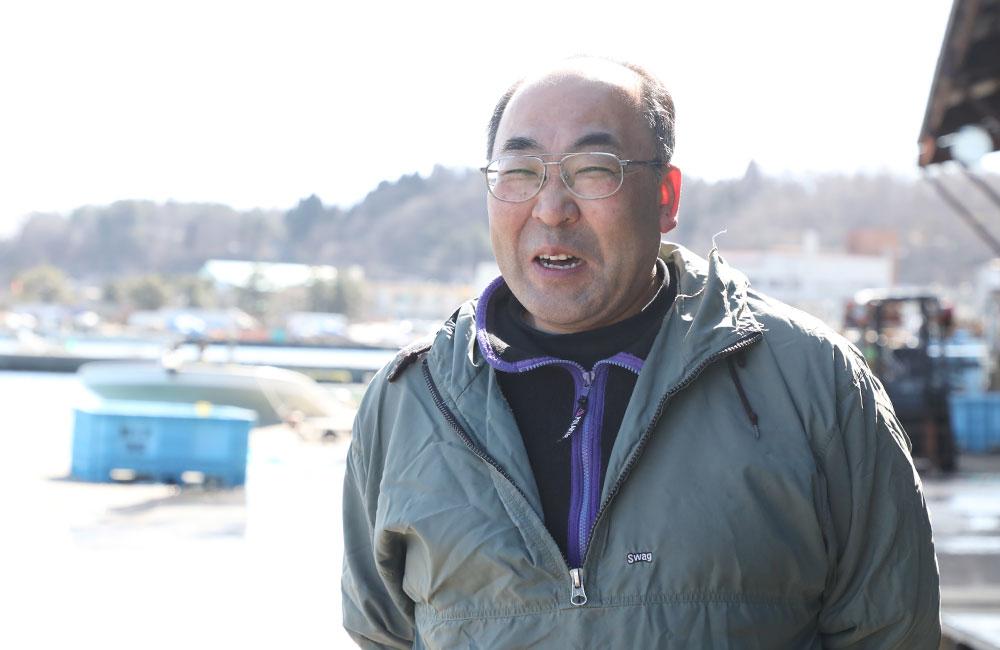 鯵ヶ沢漁港 蝦名恒総務課長